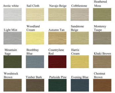 James Har Fiber Cement Siding Color